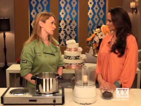 Sugar Flower Cake Shop On TV Land's Best Night In - Chocolate Ganache Recipe