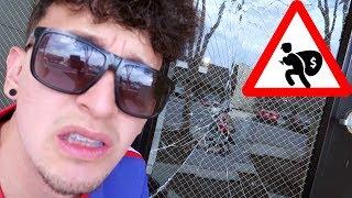 Quebraron la PUERTA para entrar a mi CASA!! (HotSpanish Vlogs)