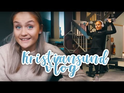 Kristiansund vlog! I Shopping, fotball og treningsøkt