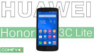 Видеодемонстрация смартфона Huawei Honor 3C Lite от Comfy
