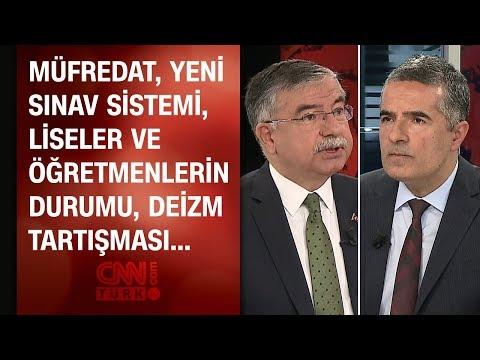 Milli Eğitim Bakanı İsmet Yılmaz'dan CNN TÜRK'te önemli açıklamalar (özel röportaj)