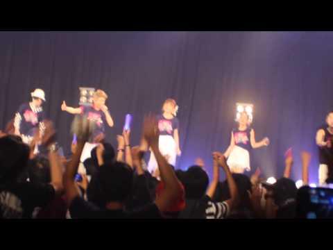 Konser AAA in jakarta- Wake up