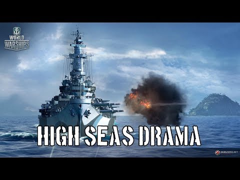 World of Warships - High Seas Drama