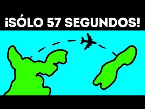 El vuelo de pasajeros de 57 segundos, el más corto del mundo