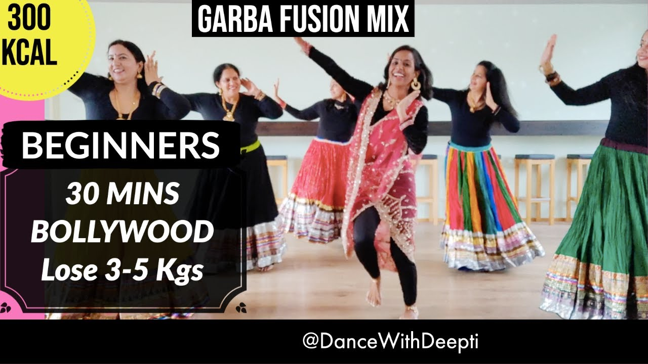 30mins DAILY GARBA Dance Workout | Navratri Special | Easy Exercise to Lose weight 3-5kgs