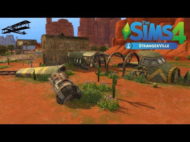 The Sims 4: Repülőgép roncs | StrangerVille + Alapjáték