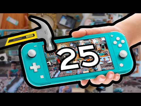 25 WAYS TO BREAK A SWITCH LITE