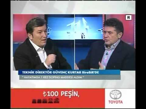 Güvenç Kurtar TRT Spor Bire Bir Bölüm-1