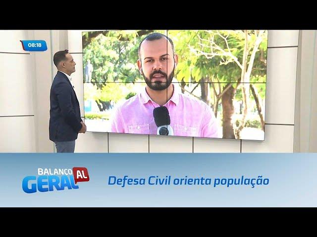 Defesa Civil orienta população sobre chamados durante o feriado