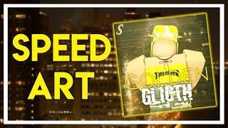 Roblox GFX Speedart - Golden Glitch
