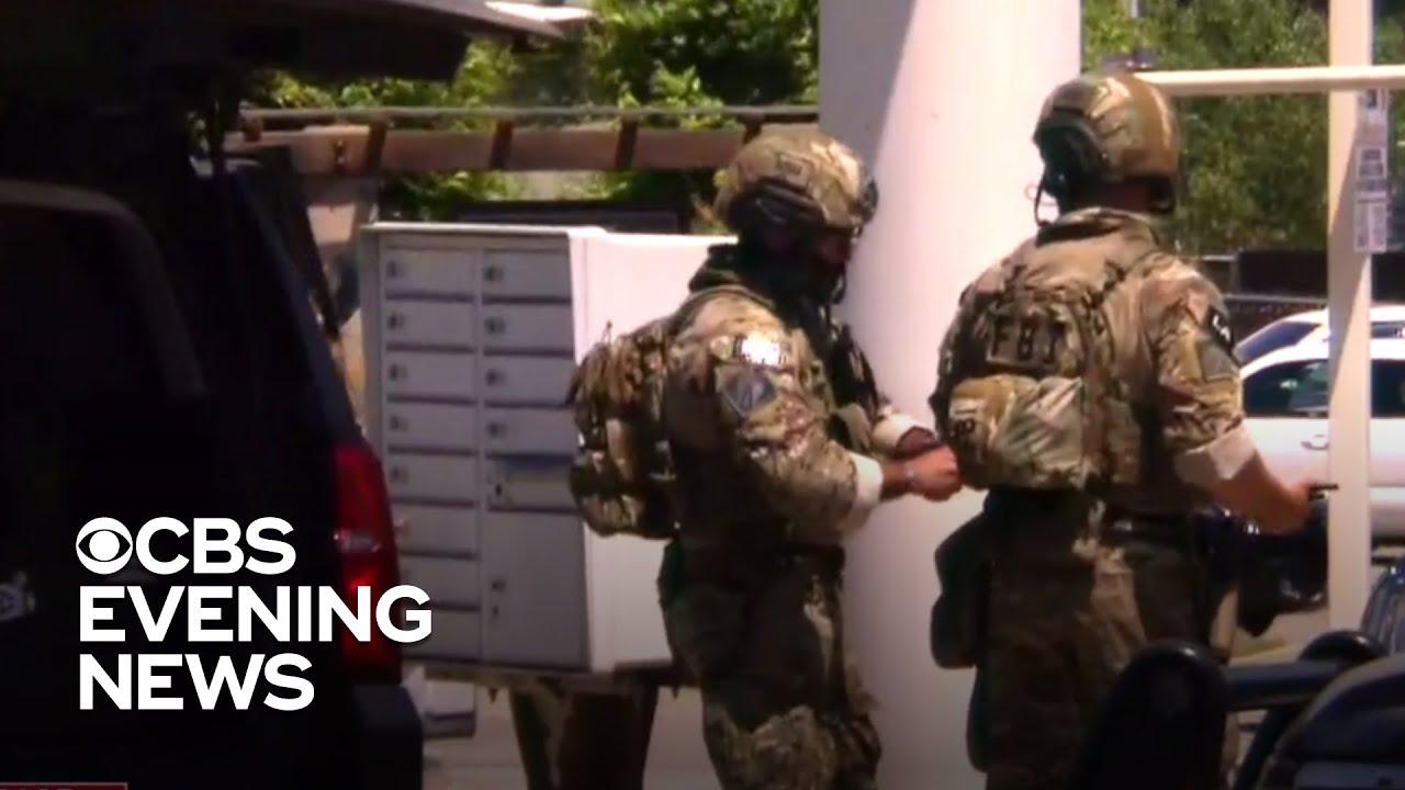 """Shootout in California after manhunt for """"ambush"""" attack gunman thumbnail"""