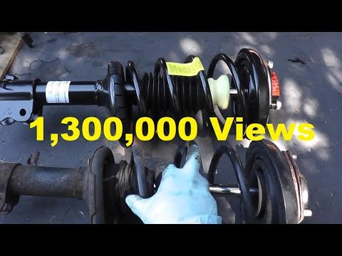 Front Shock (Strut) Replacement with Basic Hand Tools