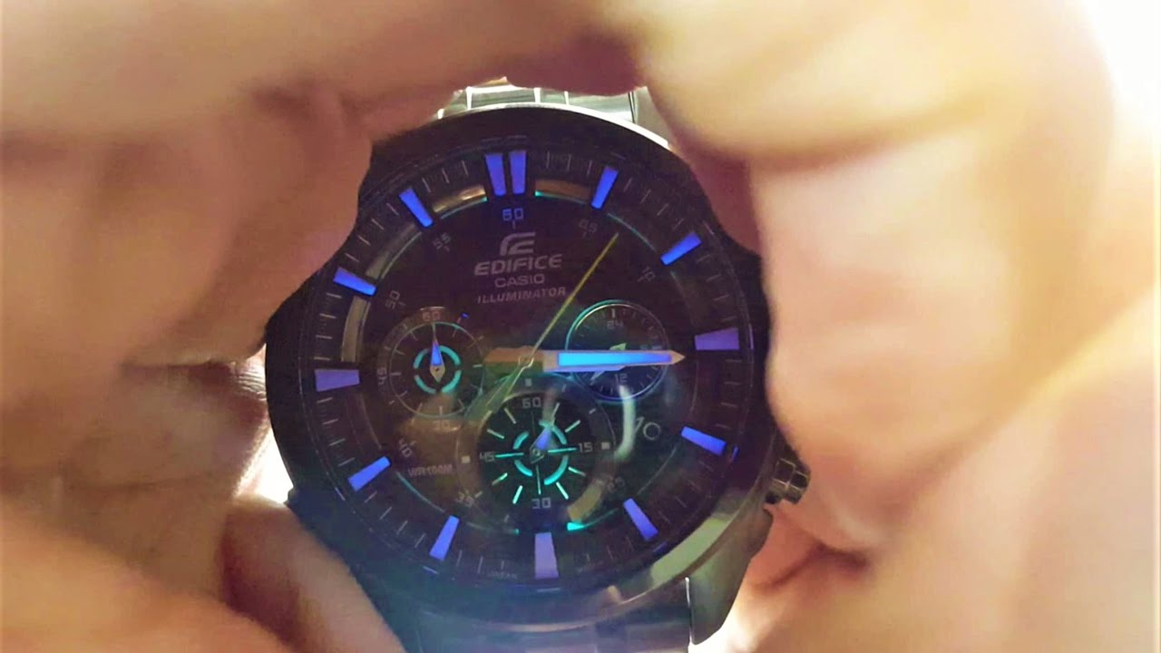 Casio Edifice Watch Efr 537bk 1a Unboxing Youtube