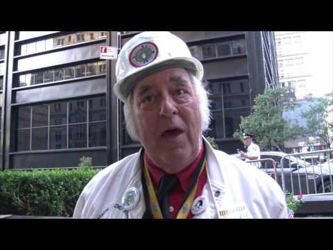 Occupy Wall Street's 5th Anniversary in Zuccotti Park, NYC, 17 Sept 2016 -  Bernie Blackout News