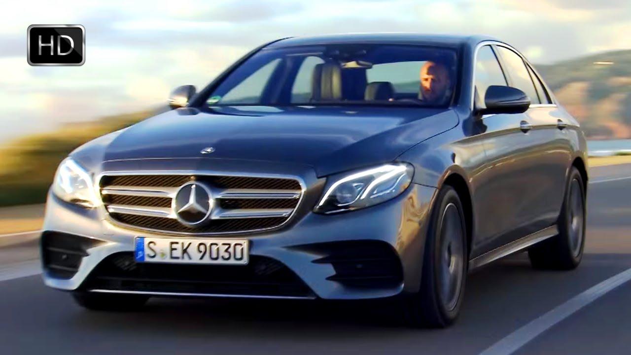 E400 Coupe 2018 >> 2017 Mercedes-Benz E400 4MATIC AMG Line Sedan Test Drive HD - YouTube