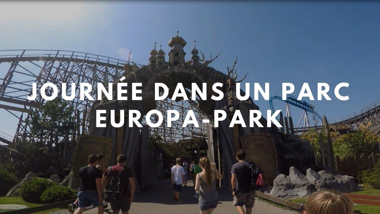 Journ e dans un parc fin de s jour europa park youtube for Sejour complet europa park