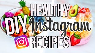 DIY HEALTHY INSTAGRAM FOOD!!