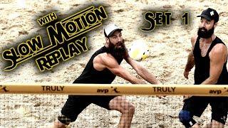 McKibbin/McKibbin vs. Paulis/Samuels | AVP Manhattan Beach Open