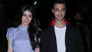 Salman's Brother In Law Aayush Sharma SPOTTED Along With His Loveratri Movie Co Star