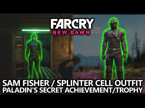Far Cry New Dawn - Splinter Cell Sam Fisher Outfit Easter Egg - Paladin's Secret Achievement/Trophy
