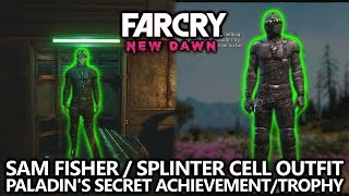 Far Cry New Dawn - Splinter Cell Sam Fisher Outfit Easter Egg - Paladin