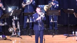 Air Force Band - Flight of the Bumblebee - Trombone Solo