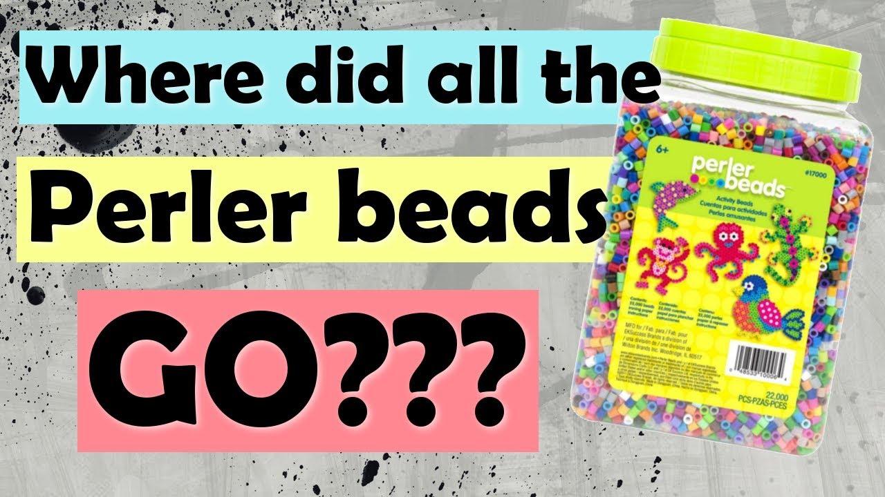 Michael's is no longer selling perler beads?