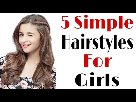 5-quick-and-simple-haistyles-for-girls-|-everyday-hairstyles-|-easy-hairstyles-|-hair-style-girl