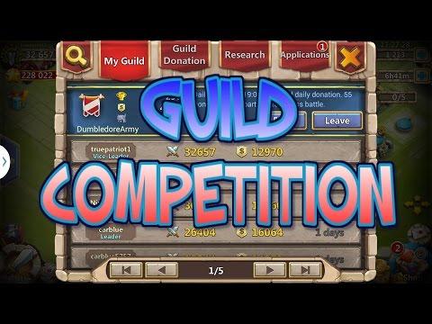 Castle Clash - DA Guild Competition