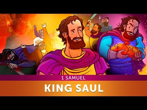 Sunday School Lesson for Children - King Saul - 1 Samuel - Bible Teaching Stories for Christianity
