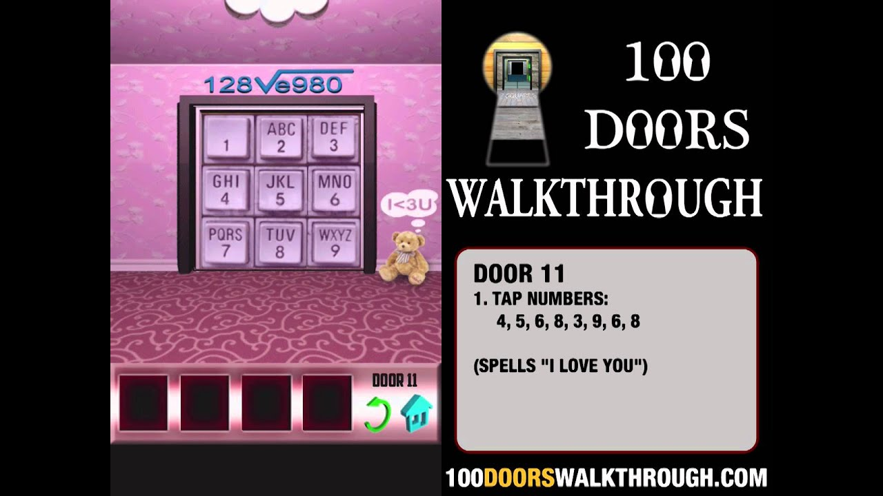 100 doors x door 11 walkthrough iphone 100 doors x 11