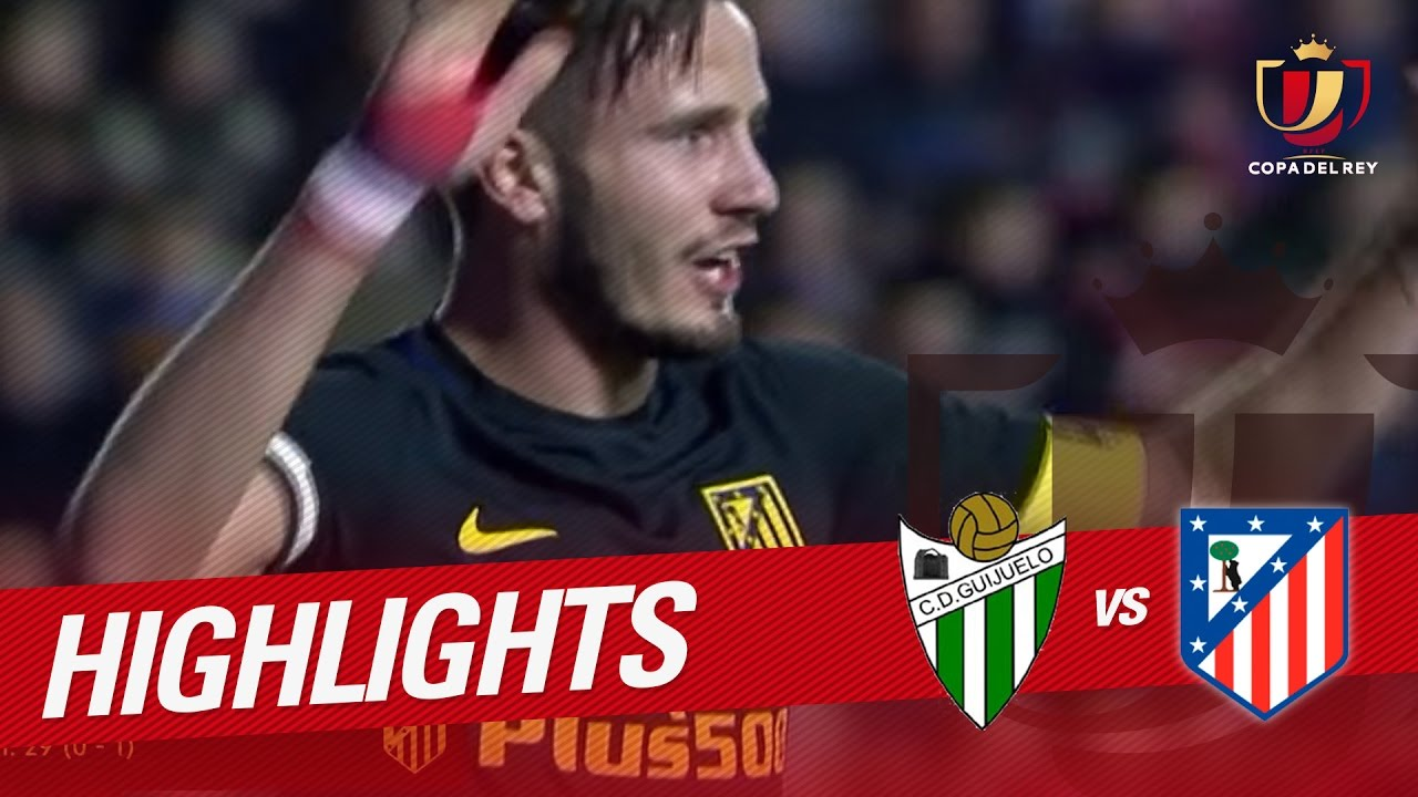 Resumen De Cd Guijuelo Vs Atlético De Madrid 0 6 Youtube