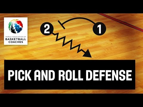 Basketball Coach Svetislav Pesic - Pick And Roll Defense