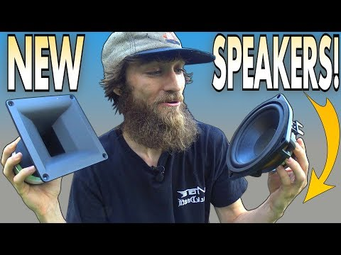 Choosing The BEST Speakers for CUSTOM Door Panels & Planning EXO's B&C Car Audio SPEAKER POD Build