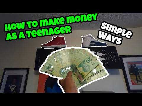 HOW TO MAKE MONEY AS A TEENAGER💵 (Top Simple Ways)