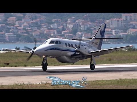 AIS Airlines - British Aerospace Jetstream 32EP PH-NCI - Landing at Split Airport LDSP/SPU