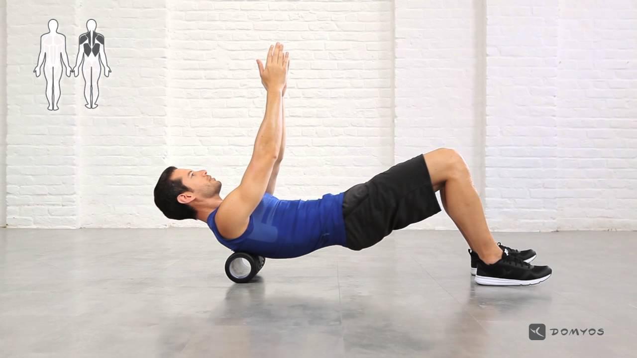 [迪卡儂] Domyos 健身運動品牌 健身滾筒使用教學 #1 - YouTube