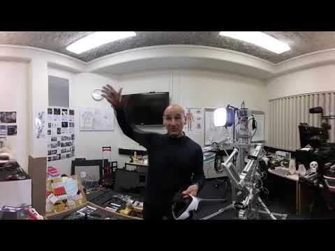 360° video: Interview with Stelarc, artist, Perth, Western Australia, 17 October 2017 (Part 2)