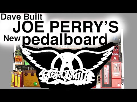Joe Perry's Killer New Pedalboard | Aerosmith | LA Sound Design | Dave Phillips | Tim Pierce