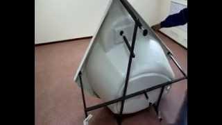 Как собрать ариловую ванну. Этапы сборки ванны..avi(, 2012-04-02T10:45:16.000Z)