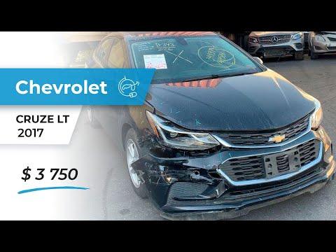 Обзор авто с аукциона IAAI CHEVROLET CRUZE LT 2017 за 3750 $ #OnlineAutoExport