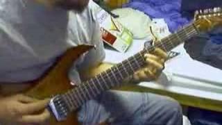 Me playing this mortal soil by mastodon guitar
