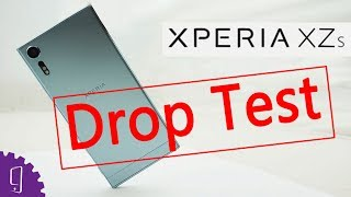 Sony Xperia XZs Drop Test