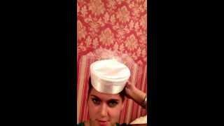 Свадебная шляпка доя Александры