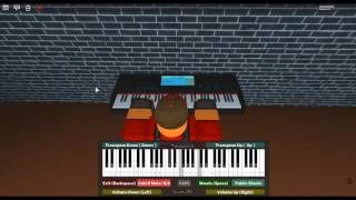 Nocturne in the Afternoon - Angel Beats! by: Jun Maeda on a ROBLOX piano. [Chobits' Arrangement]