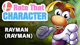 Rate That Character - Rayman