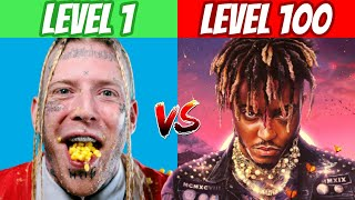Ranking RAPPERS From Level 1 To Level 100! (2021 Worst To Best)