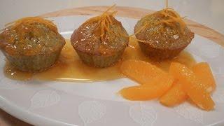 Pistachio Semolina Cupcake With Orange Syrup | Sanjeev Kapoor Khazana