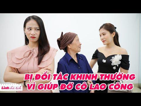 Linh Chủ Tịch #69: Chủ Tịch Bị Đối Tác Khinh Thường Vì Giúp Đỡ Cô Lao Công | #Shorts