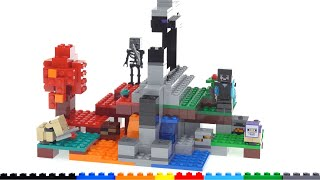 LEGO Minecraft The Ruined Portal 21172 review!